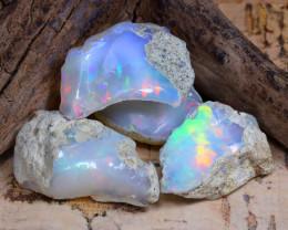 28.75Ct Bright Color Natural Ethiopian Welo Opal Rough DT0247