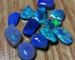 AAA GRADE BLACK OPAL ROUGH RUBBEDSEMIFINISHED