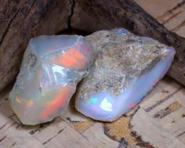33.27Ct Bright Color Natural Ethiopian Welo Opal Rough DT0263