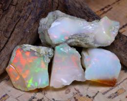 36.20Ct Bright Color Natural Ethiopian Welo Opal Rough DT0282