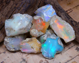 39.48Ct Bright Color Natural Ethiopian Welo Opal Rough DT0283