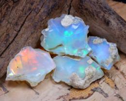 23.30Ct Bright Color Natural Ethiopian Welo Opal Rough DT0293