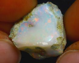 12.67 Multi Color Play Ethiopian Welo Opal Rough JF2314/R2