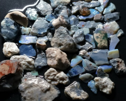 556.72Cts Ridge Crystal Opal beginners Rough/Rubs JRD-784