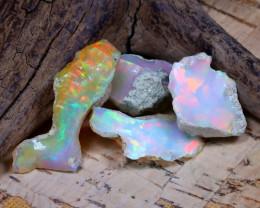 20.30Ct Bright Color Natural Ethiopian Welo Opal Rough DT0309