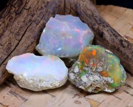 39.08Ct Bright Color Natural Ethiopian Welo Opal Rough DT0311