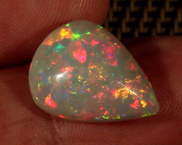 6.86CT~BRILLIANT 5/5 WELO OPAL CAB~FULL SATURATION OF FIRE!