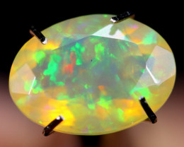 1.72cts Natural Ethiopian Faceted Welo Opal /BF3377