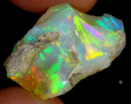 11cts Natural Ethiopian Welo Rough Opal / WR3931