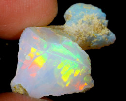 5cts Natural Ethiopian Welo Rough Opal / WR3953