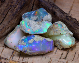 Welo Rough 43.59Ct Natural Ethiopian Play Of Color Rough Opal D2302