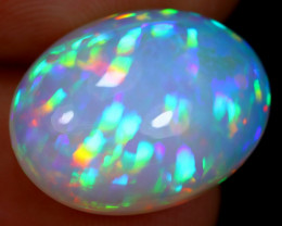 PRISM 7.68cts Natural Rainbow Ethiopian Welo Opal *RARE / BF3422