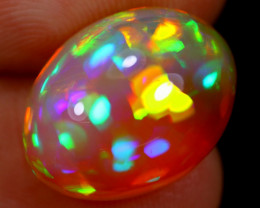 COLLECTION 6.97cts Natural ROLLING PRISM FIRE Welo Opal / BF3424
