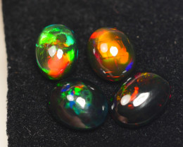 8.245CRT BRILLIANT BRIGHT PARCEL 4 PCS WELO OPAL SMOCKED -