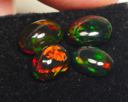 7.920CRT BRILLIANT BRIGHT PARCEL 4 PCS WELO OPAL SMOCKED -