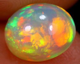 2.78cts Natural 5/5 COLOUR BROADFLASH Ethiopian Welo Opal / BF3428