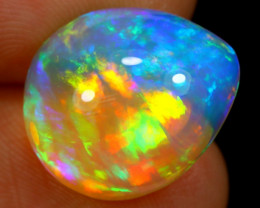 RARE COLLECTION 7.70cts Natural SUPER FIRE Welo Opal / BF3432