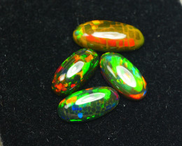 3.025CRT BRILLIANT BRIGHT PARCEL 4 PCS WELO OPAL SMOCKED -