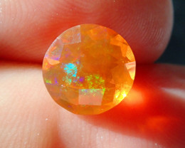 2.46ct Facetted Fire Opal