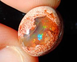 5.32ct Mexican Matrix Cantera Multicoloured Fire Opal