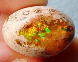 13.80ct Mexican Matrix Cantera Multicoloured Fire Opal