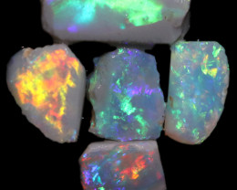 5.40 CTS  OPAL RUB PARCEL PRE FACED  [BR7998]