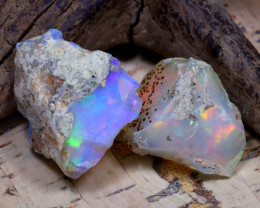 29.20Ct Bright Color Natural Ethiopian Welo Opal Rough DT0346