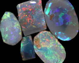 5.61 CTS  OPAL RUB PARCEL PRE FACED  [BR8014]