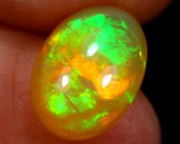 3.31cts Natural Ethiopian BROADFLASH Welo Opal / BF3443