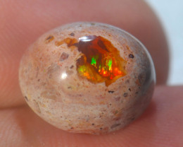 8.38ct Mexican Cantera Fire Opal Stone