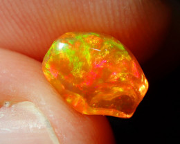 1.62ct Fire Opal With Play Of Color