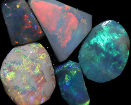 4.49 CTS  OPAL RUB PARCEL PRE FACED  [BR8016]