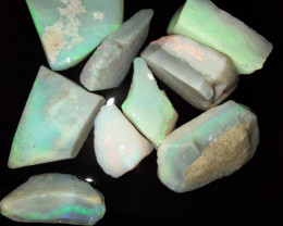 130 Cts Mintabie Rough Opal