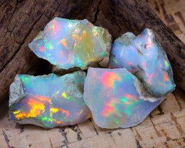 36.43Ct Bright Color Natural Ethiopian Welo Opal Rough DT0357