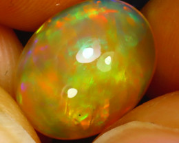 Welo Opal 2.75Ct Natural Ethiopian Play of Color Opal H2602/A44