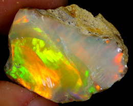 10cts Natural Ethiopian Welo Rough Opal / WR3995