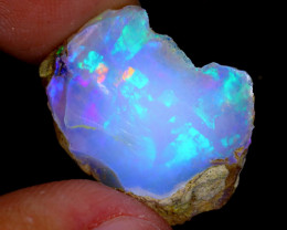 14cts Natural Ethiopian Welo Rough Opal / WR4002