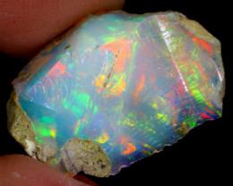 6cts Natural Ethiopian Welo Rough Opal / WR4010