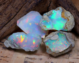 35.20Ct Bright Color Natural Ethiopian Welo Opal Rough DT0379