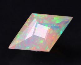 Certified 1.33Ct Master Rhombus Cut Natural Welo Opal FET0113