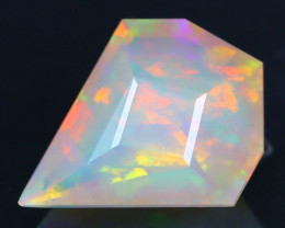 Certified 2.30Ct Precision Kite Cut Natural Welo Opal FET0150