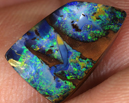 5.35ct 13.5x9mm Queensland Boulder Opal  [LOB-3530]