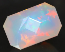 Certified 5.985Ct Precision Master Cut Natural Welo Opal FET0139