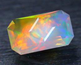 Certified 1.33Ct Master Octogon Cut Natural Welo Opal FET0137