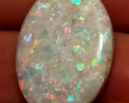 14.80 CTS Oval 26 x 20mm Crystal Opal