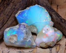 45.75Ct Bright Color Natural Ethiopian Welo Opal Rough DT0401