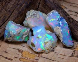 39.89Ct Bright Color Natural Ethiopian Welo Opal Rough DT0408
