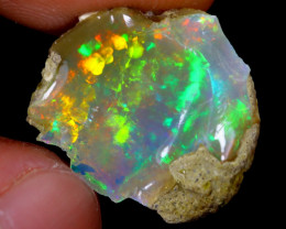 8cts Natural Ethiopian Welo Rough Opal / WR4032