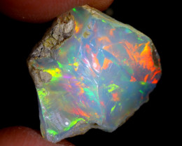 10cts Natural Ethiopian Welo Rough Opal / WR4035