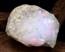 29.80Ct Bright Color Natural Ethiopian Welo Opal Rough DT0395